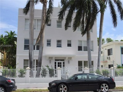 1027 Pennsylvania Ave UNIT 306, Miami Beach, FL 33139 - MLS#: A10381983