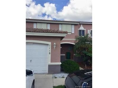7118 SW 164th Ct UNIT 0, Miami, FL 33193 - MLS#: A10382022