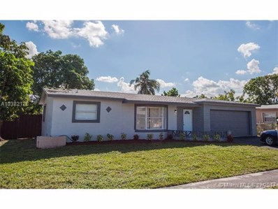 3266 NW 43rd St, Lauderdale Lakes, FL 33309 - MLS#: A10382128