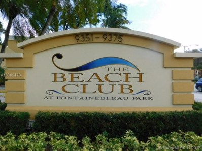 9355 Fontainebleau Blvd UNIT C106, Miami, FL 33172 - MLS#: A10382479
