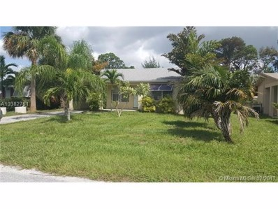 4714 Arlette Ct, Lake Worth, FL 33461 - MLS#: A10382761
