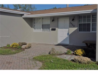 2460 NW 63rd Ave, Sunrise, FL 33313 - MLS#: A10383492