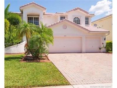 16531 SW 18th St, Miramar, FL 33027 - MLS#: A10385174