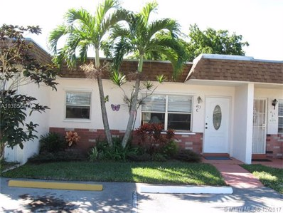 413 SW Natura Ave UNIT C, Deerfield Beach, FL 33441 - MLS#: A10385647