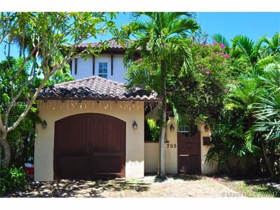 705 Madeira Ave, Coral Gables, FL 33134 - MLS#: A10385717