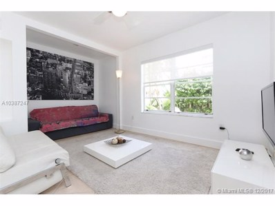 1337 Euclid Ave UNIT 104, Miami Beach, FL 33139 - MLS#: A10387247