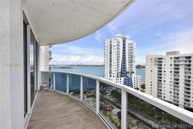 601 NE 23 St UNIT 1405, Miami, FL 33137 - MLS#: A10387680