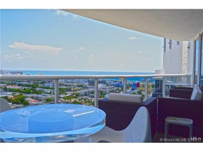 400 Alton Rd UNIT 2607, Miami Beach, FL 33139 - MLS#: A10388705