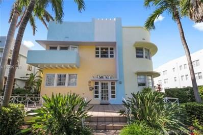 760 Euclid Ave UNIT 204, Miami Beach, FL 33139 - MLS#: A10389338