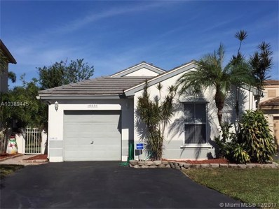 18811 NW 22nd St, Pembroke Pines, FL 33029 - MLS#: A10389445