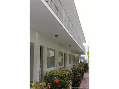 644 Meridian Av UNIT 12A, Miami Beach, FL 33139 - MLS#: A10389548