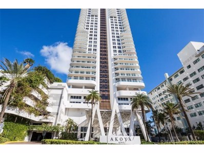 6365 Collins Ave UNIT 3001, Miami Beach, FL 33141 - MLS#: A10390248