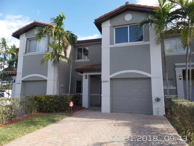 12997 SW 28th Ct UNIT 12997, Miramar, FL 33027 - MLS#: A10393810