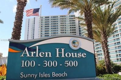 100 Bayview Dr UNIT 802, Sunny Isles Beach, FL 33160 - MLS#: A10394595