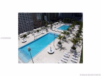 951 Brickell Av UNIT 2909, Miami, FL 33131 - MLS#: A10395099