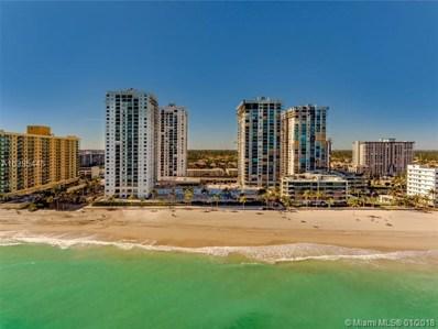 2201 S Ocean Dr UNIT 407, Hollywood, FL 33019 - MLS#: A10395445