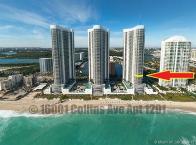 16001 Collins Ave UNIT 1201, Sunny Isles Beach, FL 33160 - MLS#: A10395666