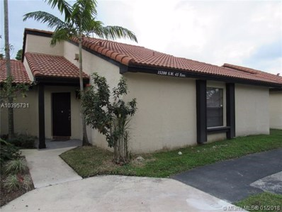 15200 SW 45th Ter UNIT E-46, Miami, FL 33185 - MLS#: A10395731