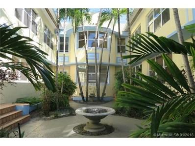 1051 Euclid Ave UNIT 208, Miami Beach, FL 33139 - MLS#: A10395803