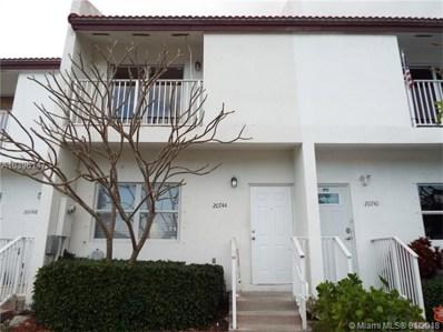 20744 SW 82nd Ave UNIT 20744, Cutler Bay, FL 33189 - MLS#: A10396147