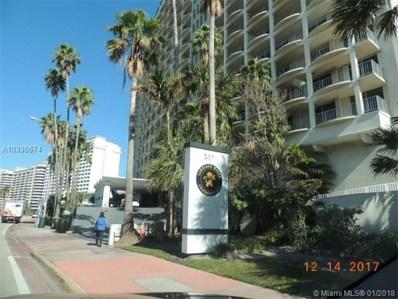 5401 Collins Ave UNIT 1124, Miami Beach, FL 33140 - MLS#: A10396674