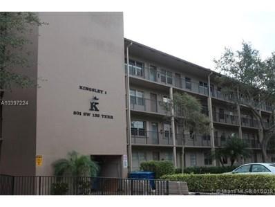 801 SW 133rd Ter UNIT 213K, Pembroke Pines, FL 33027 - MLS#: A10397224
