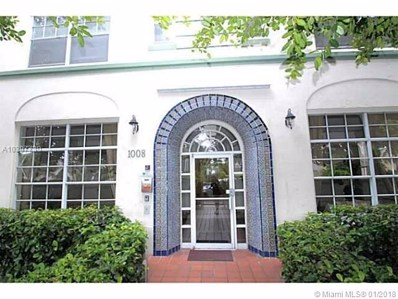1008 Jefferson Ave UNIT 201, Miami Beach, FL 33139 - MLS#: A10397730