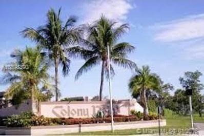 901 Colony Point Circle UNIT 501, Pembroke Pines, FL 33026 - MLS#: A10398390