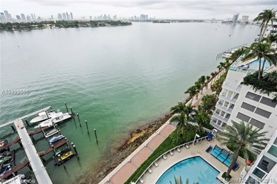 650 West Ave UNIT 1001, Miami Beach, FL 33139 - MLS#: A10399506