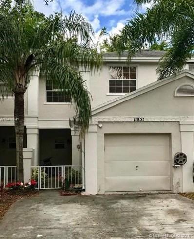 11851 SW 98th Ter, Miami, FL 33186 - MLS#: A10400049