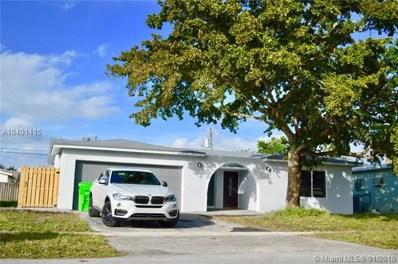 9551 NW 19th Pl, Sunrise, FL 33322 - MLS#: A10401415