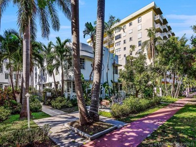 1000 Meridian Ave UNIT 15, Miami Beach, FL 33139 - MLS#: A10402184