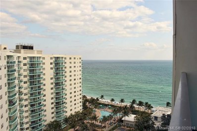 4001 S Ocean Dr UNIT 16H, Hollywood, FL 33019 - MLS#: A10402422
