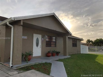 12374 SW 255th Ter, Homestead, FL 33032 - MLS#: A10403152
