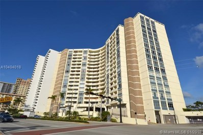 3180 S Ocean Dr UNIT 1518, Hallandale, FL 33009 - MLS#: A10404018
