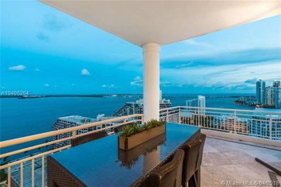 888 Brickell Key Dr UNIT PH2801, Miami, FL 33131 - MLS#: A10405254