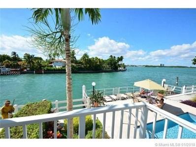 10250 W Bay Harbor Dr UNIT 4A, Bay Harbor Islands, FL 33154 - MLS#: A10405550