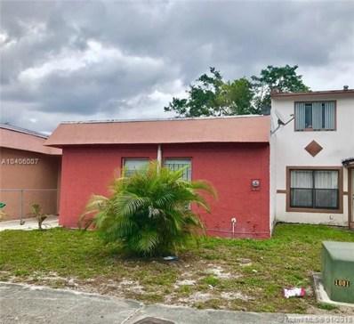 3844 NW 207th St, Miami Gardens, FL 33055 - MLS#: A10406007