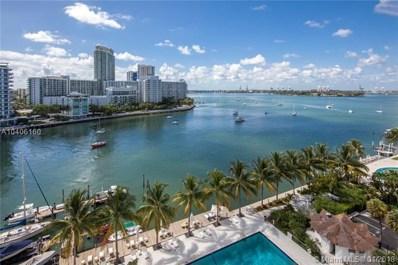 20 Island Ave UNIT 915, Miami Beach, FL 33139 - MLS#: A10406160