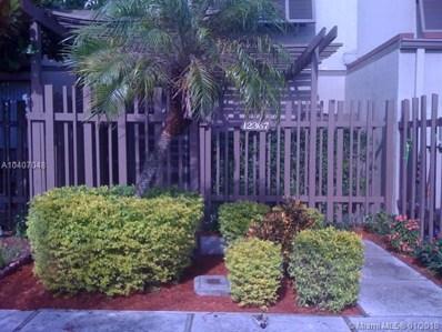 12367 NW 11th St, Pembroke Pines, FL 33026 - MLS#: A10407048