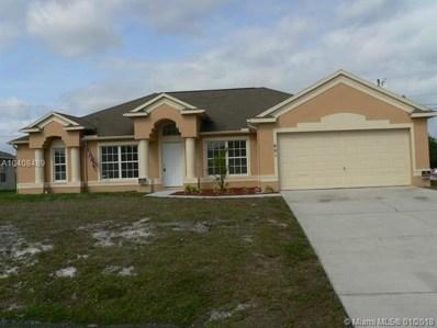 601 SW Jordin Ave, Port St. Lucie, FL 34953 - MLS#: A10408489