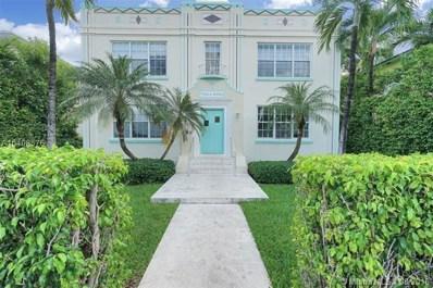 1027 Euclid Ave UNIT 5, Miami Beach, FL 33139 - MLS#: A10408576