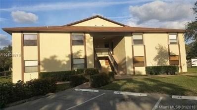 10026 Winding Lake Rd UNIT 104, Sunrise, FL 33351 - MLS#: A10409976