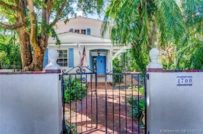 4700 Alhambra Cir, Coral Gables, FL 33146 - MLS#: A10410595
