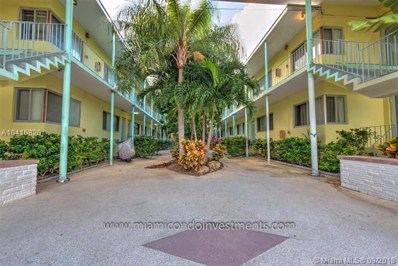 1840 James Ave UNIT 17, Miami Beach, FL 33139 - MLS#: A10410820