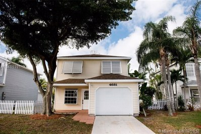 4681 Lakeside Cir, West Palm Beach, FL 33417 - MLS#: A10411191