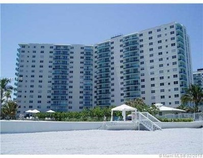 3801 S Ocean Dr UNIT 9H, Hollywood, FL 33019 - MLS#: A10411416