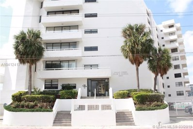 6820 Indian Creek Dr UNIT 8C, Miami Beach, FL 33141 - MLS#: A10412417