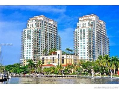 610 W Las Olas Bl UNIT 1915N, Fort Lauderdale, FL 33312 - MLS#: A10412492