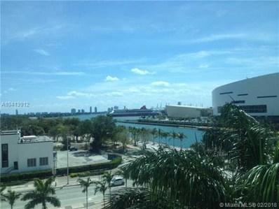 900 Biscayne Blvd UNIT O-601A, Miami, FL 33132 - MLS#: A10413012